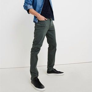 Lucky Brand LA 363 straight foster green jeans